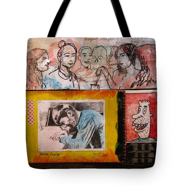 Drawings Of Women, Spock, And Doy Guy Tote Bag