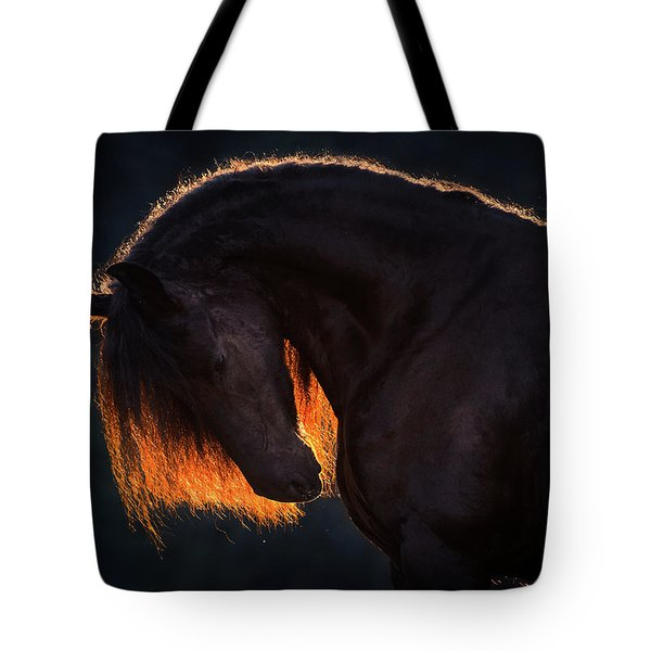 Drawn From The Darkness Tote Bag
