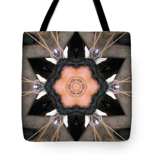 Drawn Tight Tote Bag