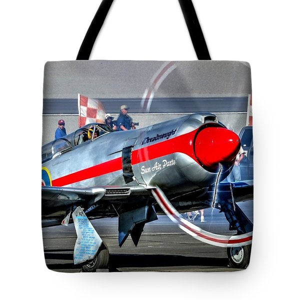 Tote Bag featuring the photograph Dreadnought Startup by John King