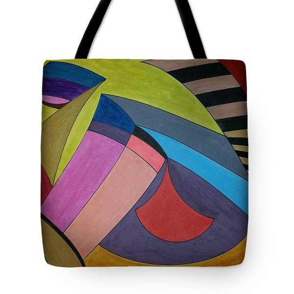 Tote Bag featuring the painting Dream 311 by S S-ray