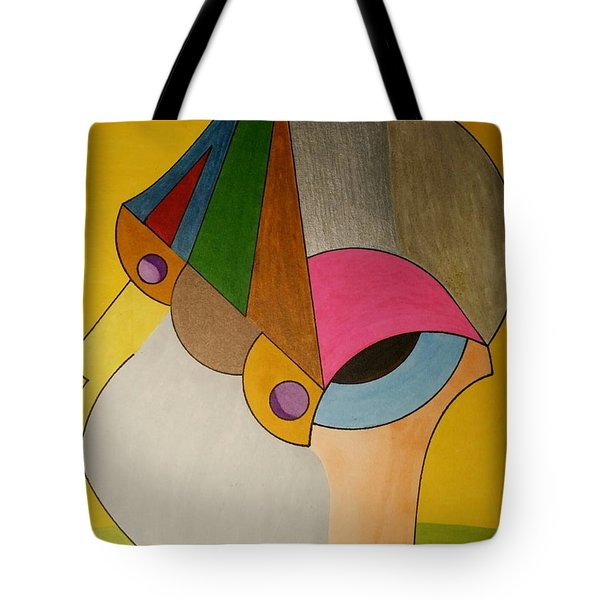 Tote Bag featuring the painting Dream 335 by S S-ray