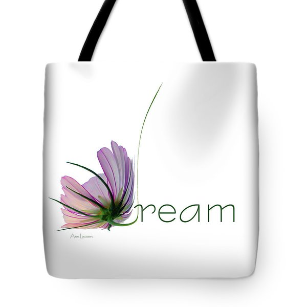 Tote Bag featuring the digital art Dream by Ann Lauwers