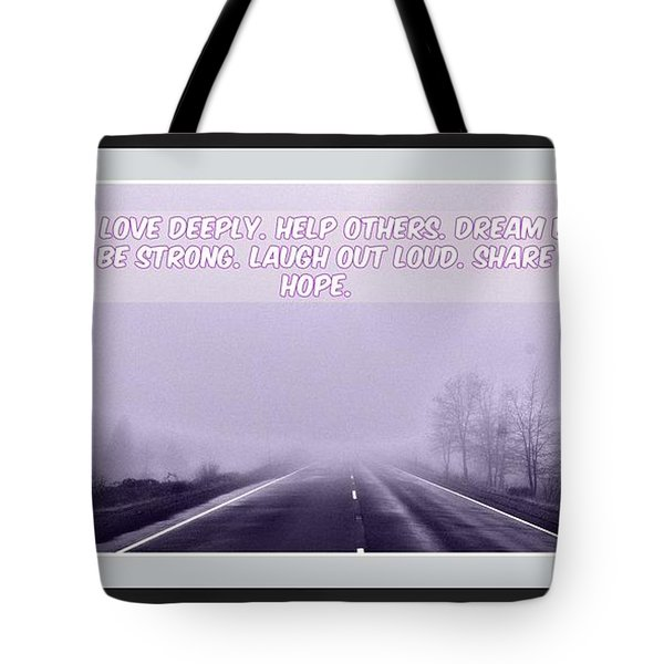 Tote Bag featuring the digital art Dream Big by Holley Jacobs