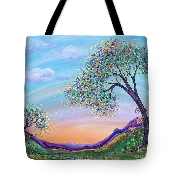 Tote Bag featuring the painting Dream Big by Tanielle Childers