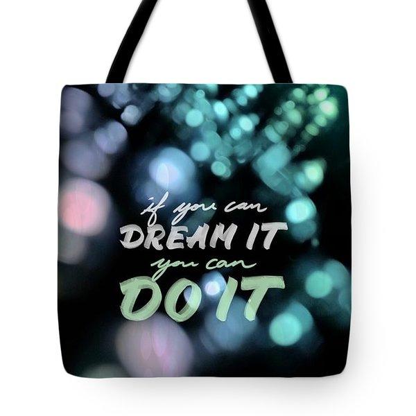 Dream Tote Bag by Bobby Villapando