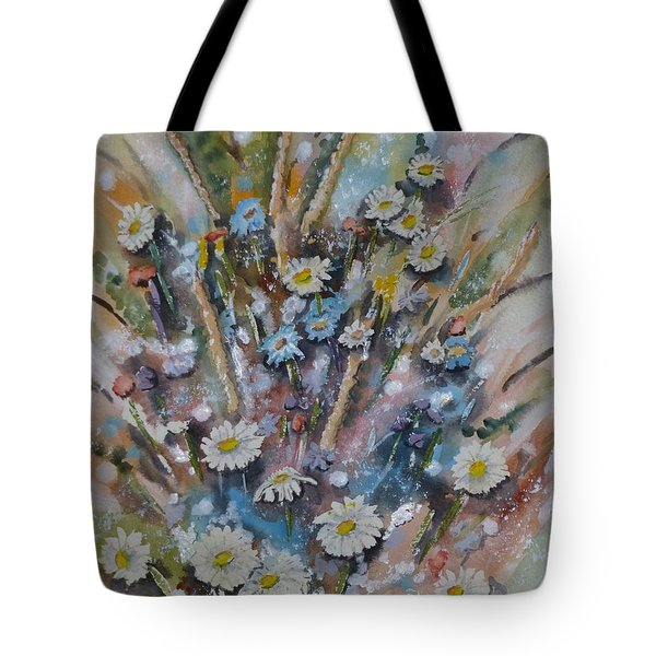 Dream Bouquet Tote Bag by Kelly Mills