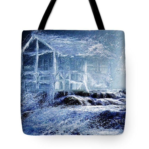 Dream Cabin  Tote Bag by Michael Cleere