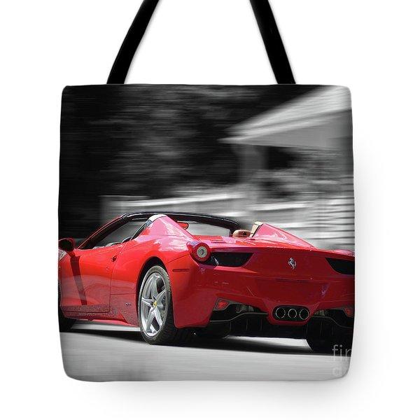 Dream Car Tote Bag