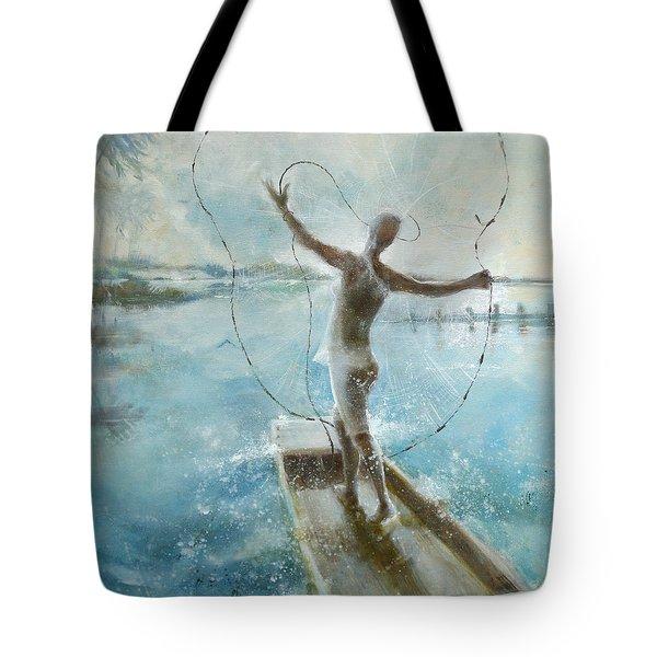 Dream Catcher Tote Bag by Gertrude Palmer