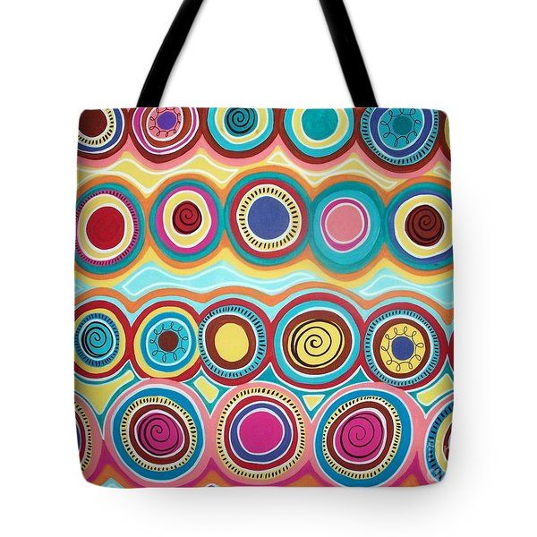 Dream Circles Tote Bag by Karla Gerard
