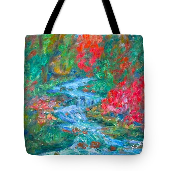 Dream Creek Tote Bag by Kendall Kessler