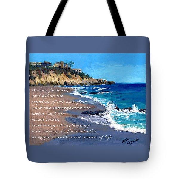 Dream Forward Tote Bag by Alice Leggett