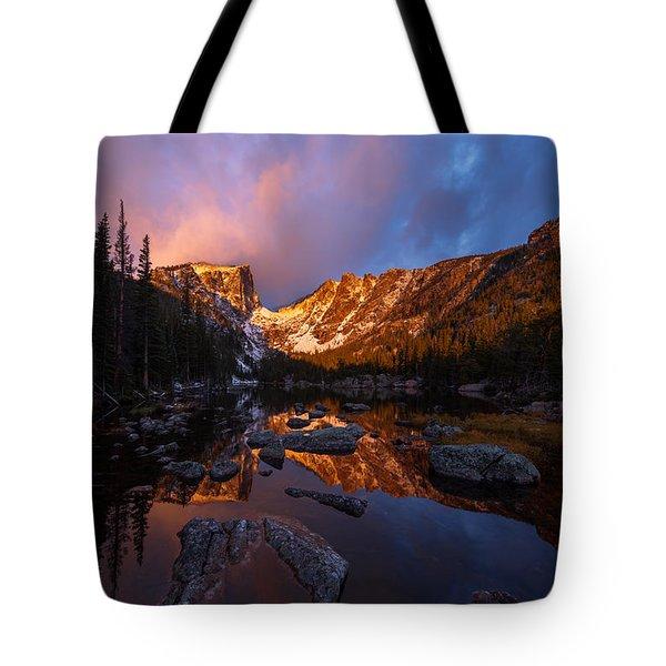 Dream Glow Tote Bag by Dustin LeFevre
