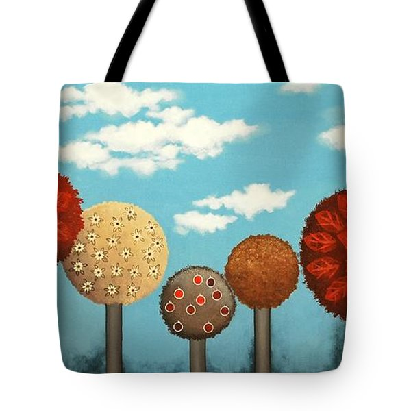 Dream Grove Tote Bag by Graciela Bello