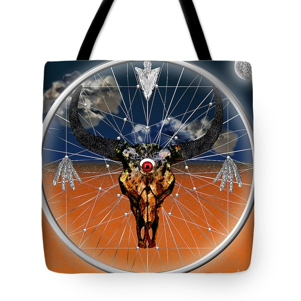 Dream Guardian Tote Bag by Iowan Stone-Flowers