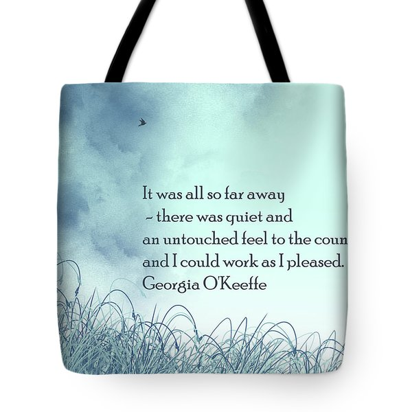 Dream Home Tote Bag by Trilby Cole