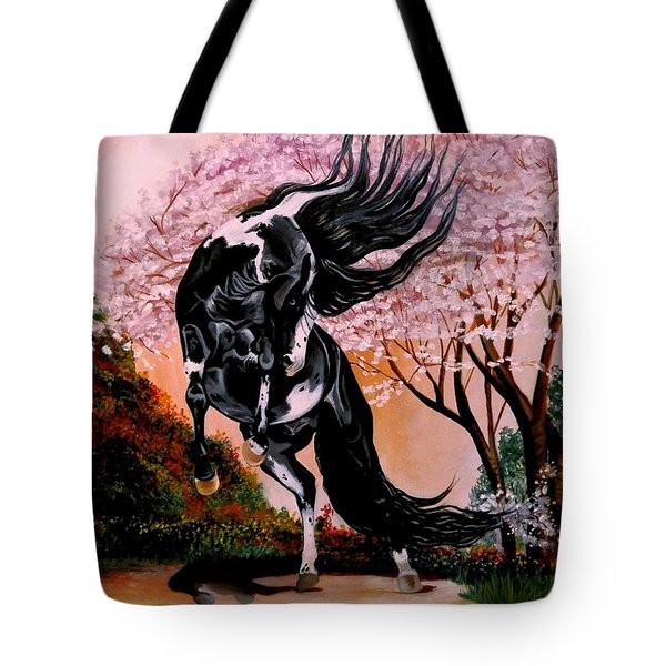 Dream Horse Series #2050 Mustang Valley Tote Bag
