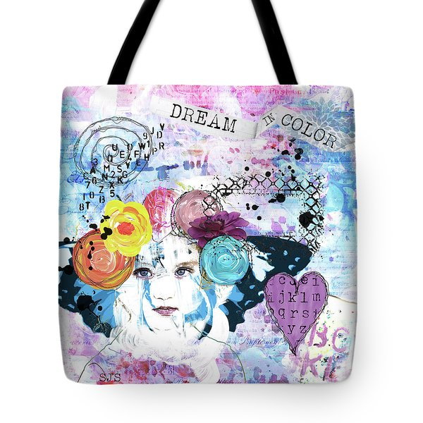 Dream In Color Tote Bag