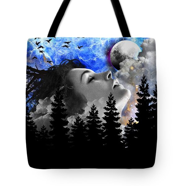 Dream Is The Space To Fly Farther Tote Bag