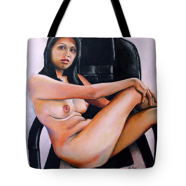 Tote Bag featuring the painting Dream by Jeremy Holton