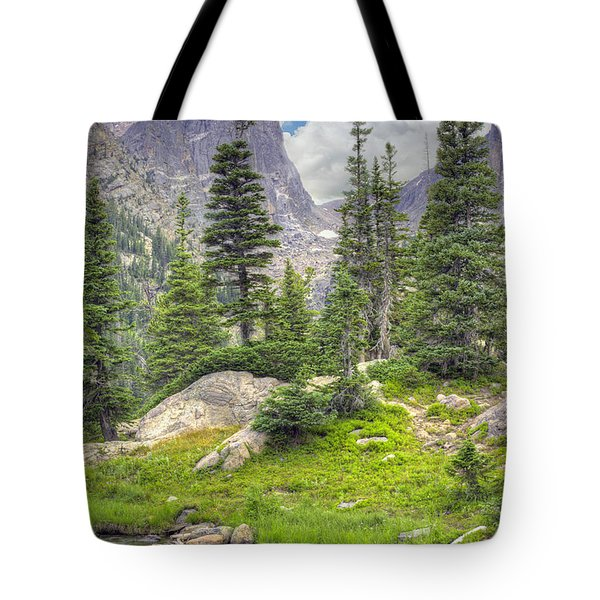 Dream Lake Tote Bag