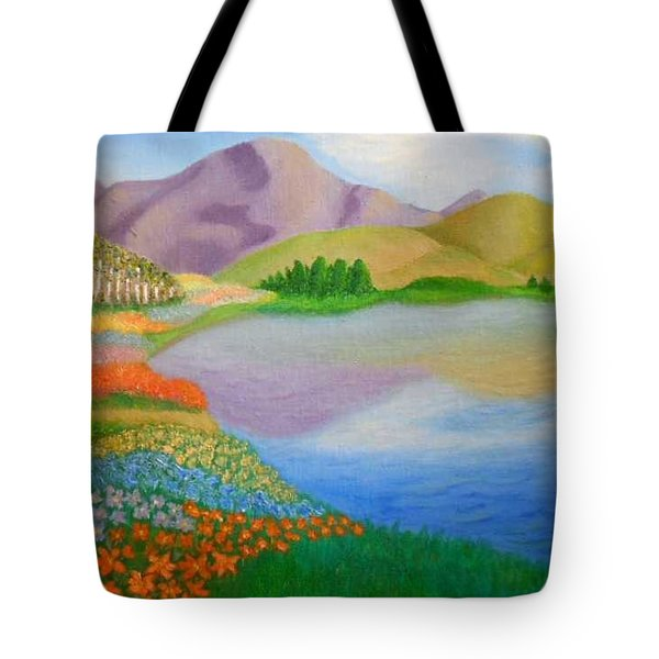 Dream Land Tote Bag by Sheri Keith