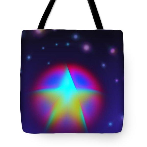Dream Like A Super Star Tote Bag