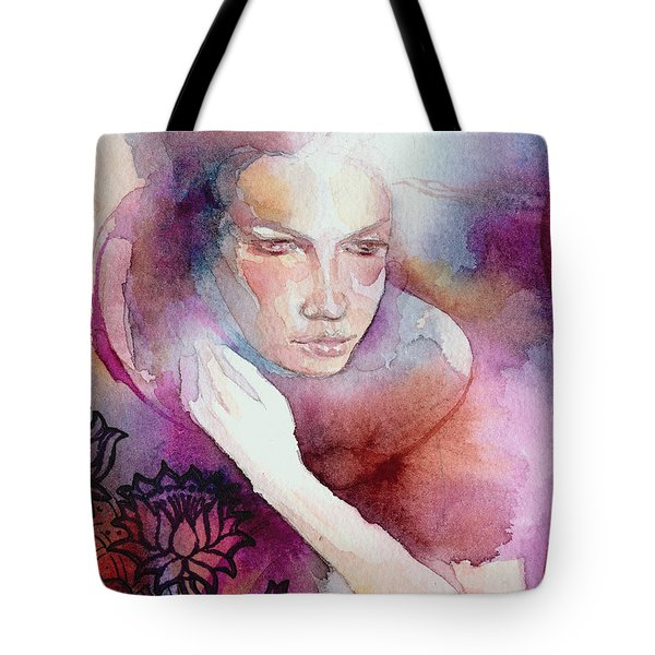 Dream Lotus Tote Bag by Ragen Mendenhall