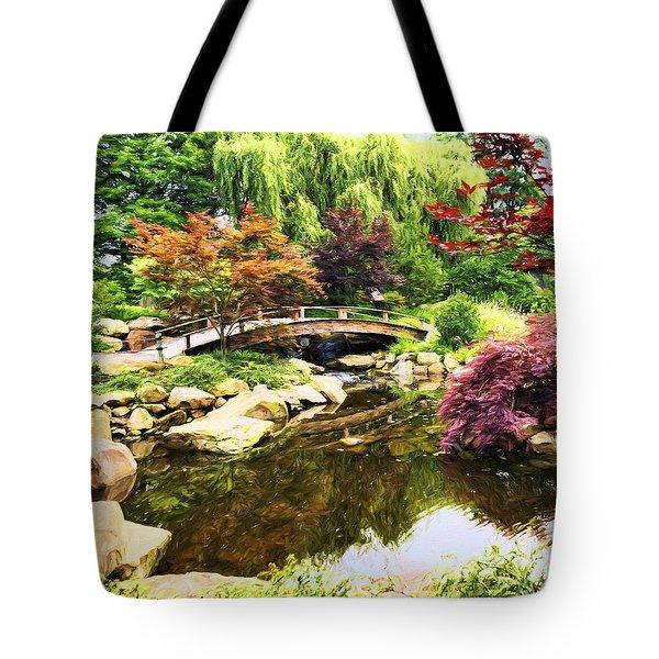 Dream Of Asia Tote Bag