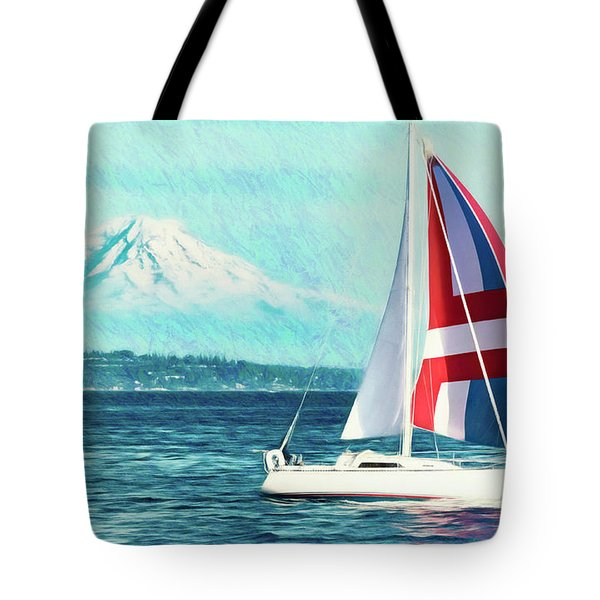 Dream Of Sailing Tote Bag