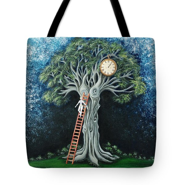Dream Of The Clock Tote Bag