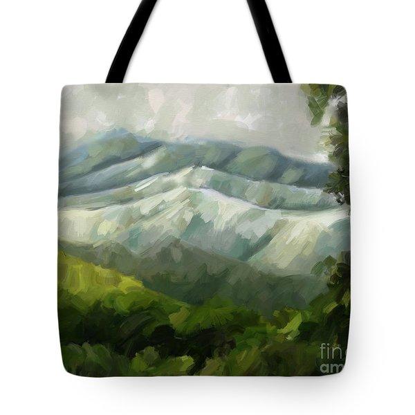 Dream Scape Tote Bag