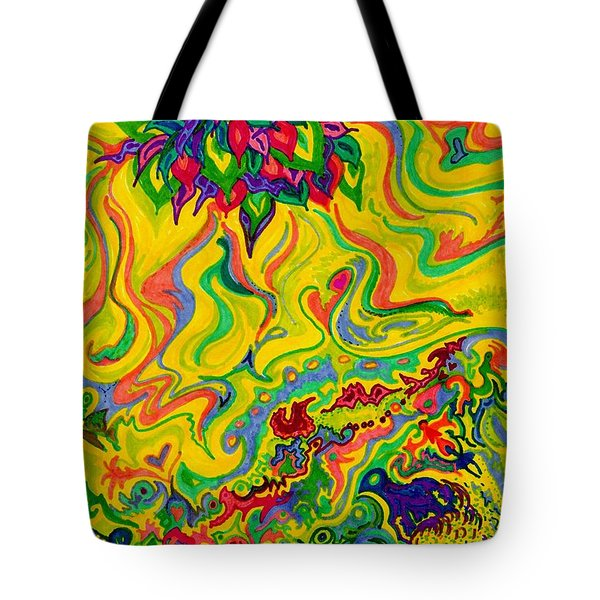 Dream-scaped Swamp Garden 2 Tote Bag