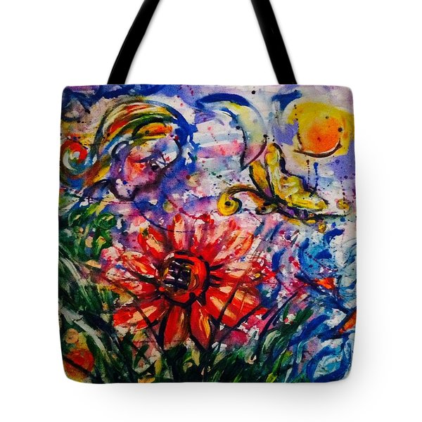 Dream Story Tote Bag