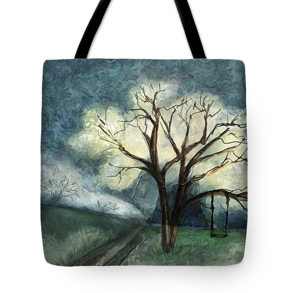 Dream Tree Tote Bag by Annette Berglund