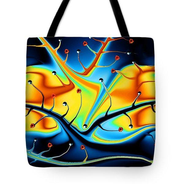 Dream Tree Tote Bag by Robin Monroe
