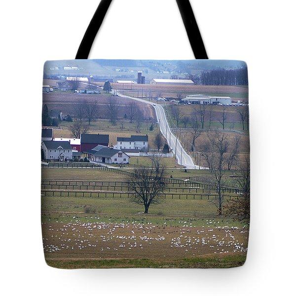 Tote Bag featuring the photograph Dream Village by Vilas Malankar