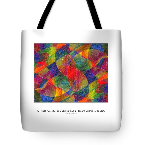 Tote Bag featuring the photograph Dream Within A Dream by Kristen Fox