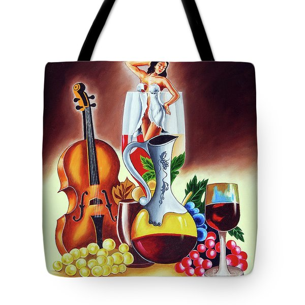 Dream World Tote Bag