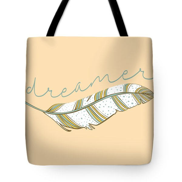 Tote Bag featuring the digital art Dreamer by Heather Applegate