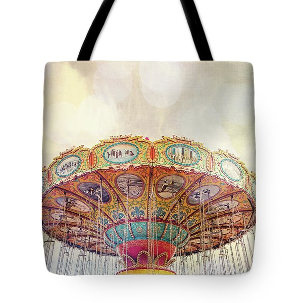 Dreamer - Nostalgic Summer Carnival Tote Bag