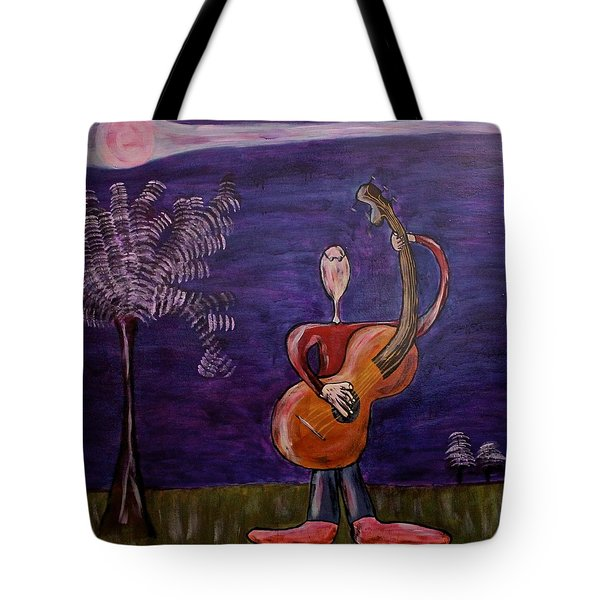 Tote Bag featuring the painting Dreamers 13-001 by Mario Perron