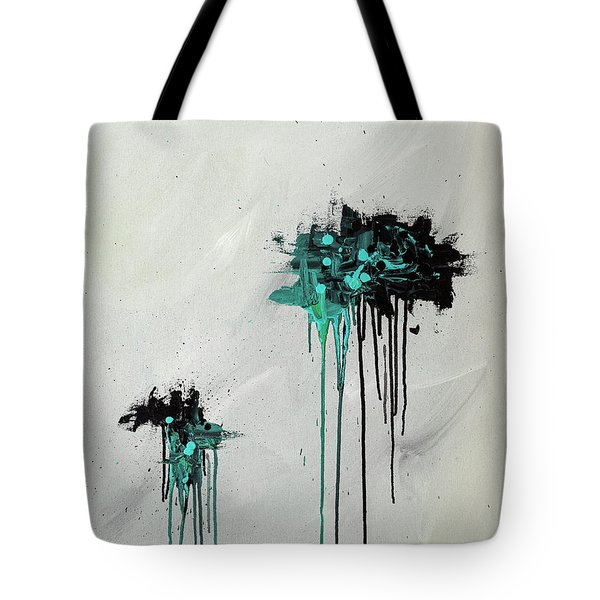 Tote Bag featuring the painting Dreamers by Carmen Guedez