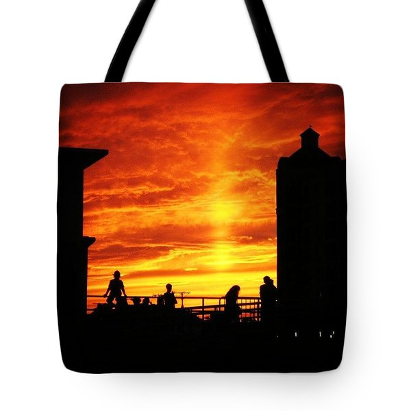 Dreaming About Summer Tote Bag by Lauren Fitzpatrick
