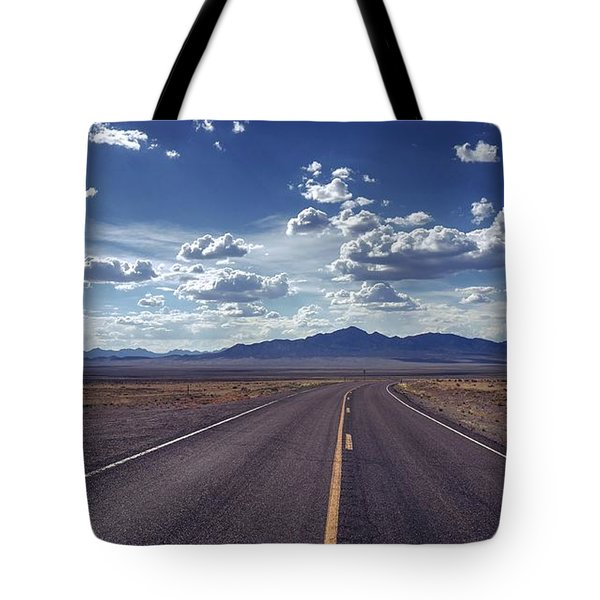 Dreaming About The Extraterrestrial Highway Tote Bag
