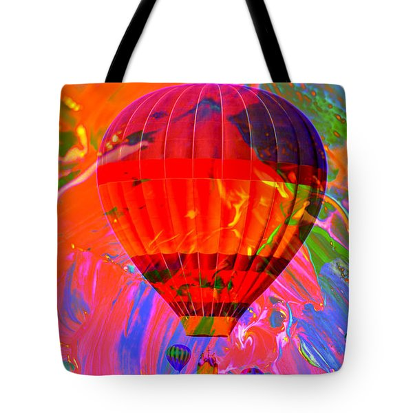 Tote Bag featuring the photograph Dreaming Across The Sky by Jeff Swan