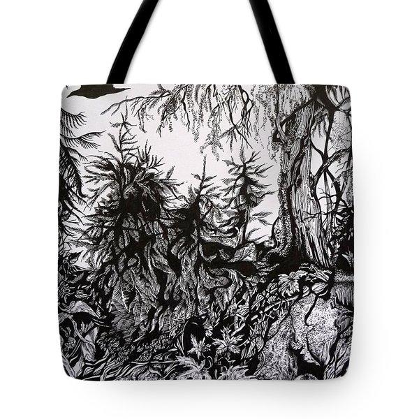 Dreaming Alaska.part One Tote Bag by Anna  Duyunova