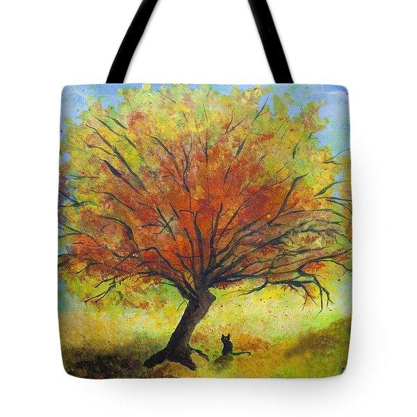 Dreaming Amber Tote Bag