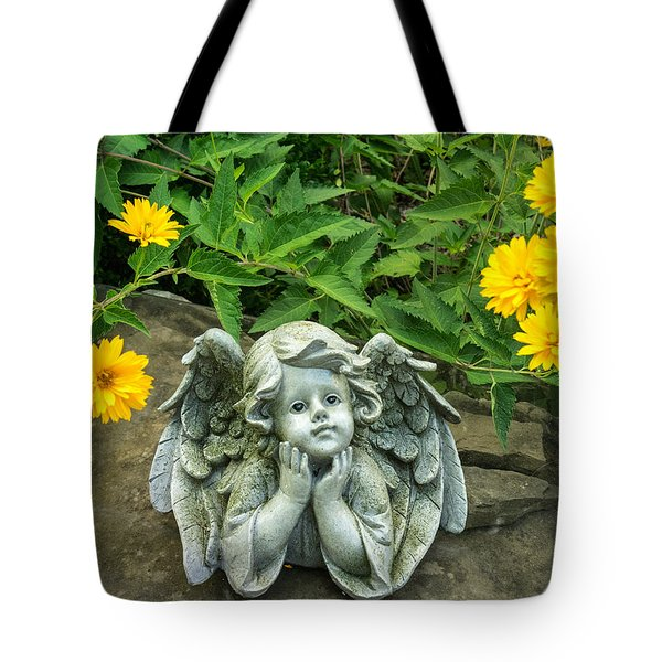 Dreaming Angel Tote Bag